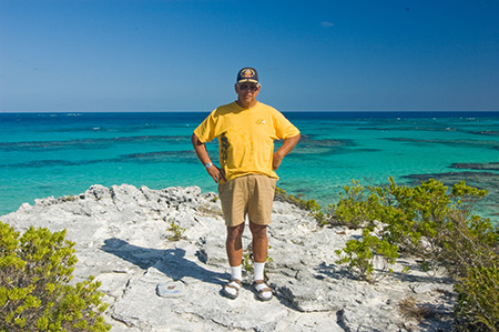 Richard Langworth, Eleuthera, Bahamas