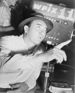 """The Voice"": Mel Allen 1913-1996 (Wikimedia Commons)"