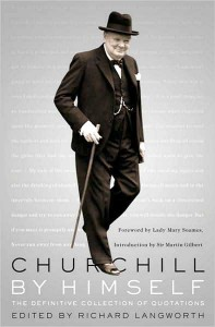Churchill By Himself (book cover)