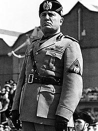 Benito Mussollini (Wikimedia)