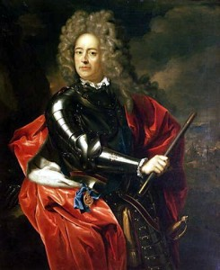 John Churchill First Duke of Marlborough (1650-1722).
