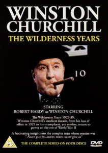 "Robert Hardy in ""The Wilderness Years"""