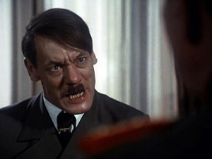 Gunter Meisner plays a very realistic Hitler.