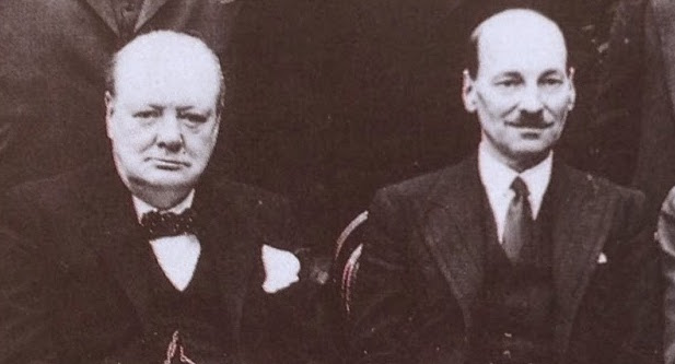 Clement Attlee's Noble Tribute to Winston Churchill
